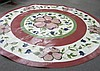 Painted Oilskin Floor Covering Stark 9' Diameter