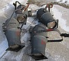Lot of 4 Industrial Lights Kliegl