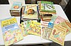 Lot of Children's Books and 5 Record/Story Books Including Brer Rabbit
