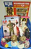 Large Lot of Barbies and G.I. Joe dolls