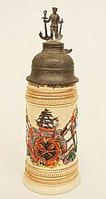 Thewalt German regimental Naval stein