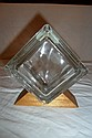 Glass Square Coin Bank