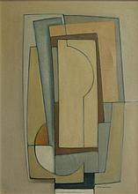 Ernst de Jong Composition No. 96 signed and dated