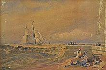 School of Thomas William Bowler Sailing Ship in