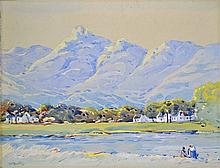 Walter Whall Battiss Near De Doorns, Cape signed