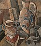 Gregoire Johannes Boonzaier - A Still Life with Jug, Bowl and Book, Gregoire Boonzaier, Click for value