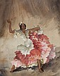 Sir William Russell Flint - Yeysa, a West Indian Dancer
