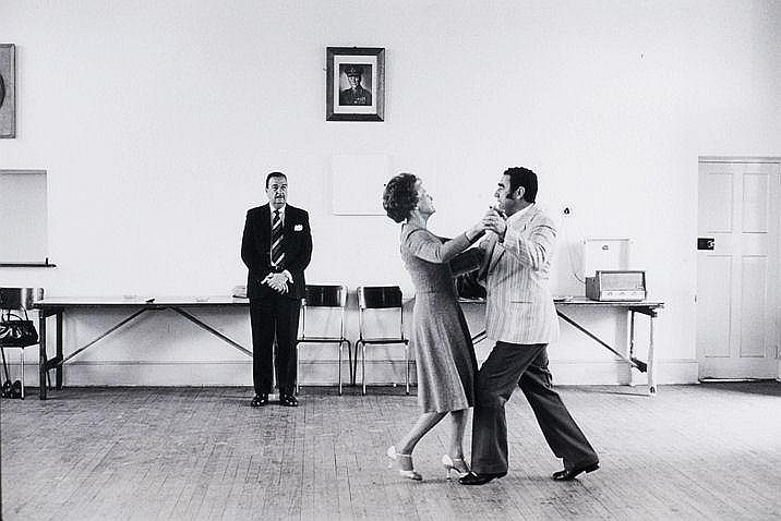 David Goldblatt SOUTH AFRICAN 1930- Dancing-master
