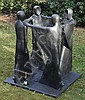 Bill Harling, born 1946 Someone Bronze Resin, Bill Harling, Click for value