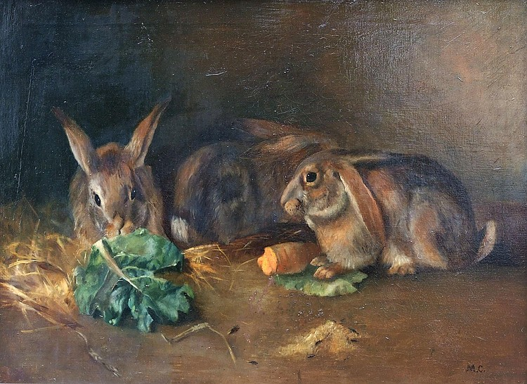 Mary Cameron (1865-1921) - FEEDING TIME