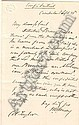 (CIVIL WAR.) EMORY, WILLIAM H. Autograph Letter Signed, to Colonel Taylor, regarding the murder of Lieutenant Meigs, writing that a detective has
