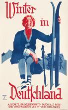 LUDWIG HOHLWEIN (1874-1949). WINTER IN DEUTSCHLAND. Circa 1935. 40x25 inches, 101x63 cm. Herm. Sonntag & Co., Munich.