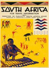 COLE BOWEN (DATES UNKNOWN). SOUTH AFRICA. Circa 1938. 39x24 inches, 101x62 cm. S.C. Allen & Company Ltd., London.