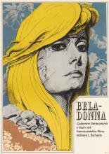 KAREL MACHÁLEK (1937- ). BELA - DONNA. 1970. 32x22 inches, 81x57 cm.