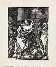 ALBRECHT DÜRER Christ Expulsing the Moneylenders from the Temple.