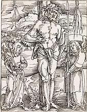 HANS BALDUNG GRIEN Christ as the Man of Sorrows.