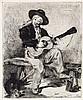 ÉDOUARD MANET Le Guitarero (ou Le Chanteur Espagnol)., Edouard Manet, $2,200