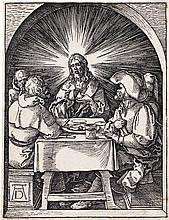 ALBRECHT DÜRER Christ at Emmaus.