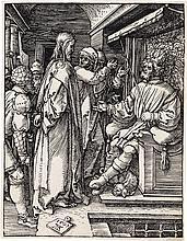 ALBRECHT DÜRER Christ before Herod.