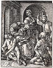 ALBRECHT DÜRER Mocking of Christ.