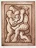 JACQUES LIPCHITZ Couple et Enfant., Jacques Lipchitz, $1,100