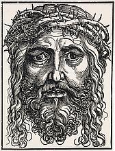 HANS SEBALD BEHAM Head of Christ Crowned with Thorns.