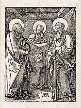 ALBRECHT DÜRER Two woodcuts from the Small Passion.