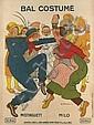ADRIEN BARRÈRE (1877-1931). BAL COSTUMÉ / MISTINGUETT. 1912. 63x47 inches, 160x119 cm. Affiches D'Art Robert & Cie., Paris.