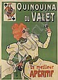 MISTI (FERDINAND MIFLIEZ 1865-1923). QUINQUINA DU VALET. 58x42 inches, 149x107 cm. Bourgerie & Cie., Paris.