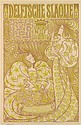JAN TOOROP (1858-1928). DELFTSCHE SLAOLIE. 1895. 35x23 inches, 89x58 cm. S. Lankhout & Co., [The Hague.]