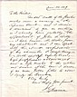 BLAINE, JAMES G. Autograph Letter Signed,