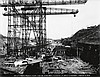 (PANAMA CANAL) Contemporary binder with 50 vintage photographs that span a ten-year period of picturesque Panama,