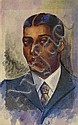 DOX THRASH (1893 - 1965) Portrait of a Young Man.