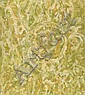 BEAUFORD DELANEY (1901 - 1979) Untitled (Yellow, Green and White Abstraction).