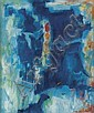ALMA THOMAS (1891 - 1978) Untitled (Abstraction in Blue)., Alma Woodsey Thomas, Click for value