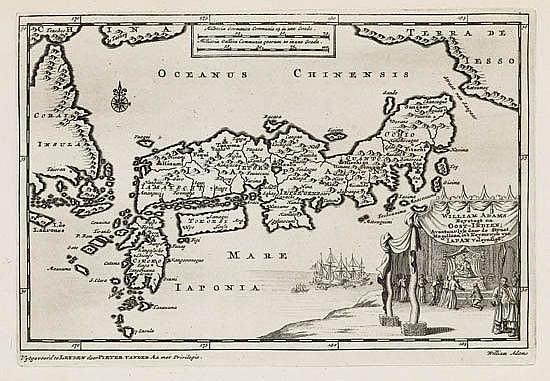 AA, PIETER van der. William Adams Reystogt na Oost-Indien; . . . in't Keyzerryk van Iapan Voleyndigd.