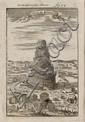 MALLET, ALAIN MANESSON. Beschreibung des gantzen Welt-Kreises.  5 vols.  1719.