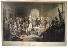 (WASHINGTON, GEORGE--PRINTS.) Ritchie, Alexander Hay; artist and engraver. Washington and his Generals.