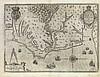DE BRY, THEODORE. Americae pars, Nunc Virginia dicta primum ab Anglis inventa.