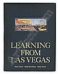 (ARCHITECTURE.) Venturi, Robert; Brown, Denise Scott; and Izenour, Steven. Learning From Las Vegas.