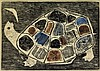 BETYE SAAR (1926 -) Turtles Lament.