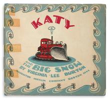 (CHILDREN'S LITERATURE.) BURTON, VIRGINIA LEE. Katy and the Big Snow.
