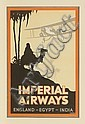 (AVIATION.) Imperial Airways. Imperial Airways. England-Egypt-India.