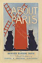 EDWARD PENFIELD (1866-1925). ABOUT PARIS. 1895. 15x10 inches, 38x25 cm. Harper & Brothers, [New York.]