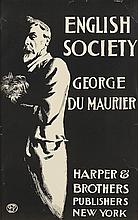 EDWARD PENFIELD (1866-1925). ENGLISH SOCIETY / GEORGE DU MAURIER. 1897. 19x12 inches, 50x31 cm.