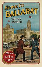 DESIGNER UNKNOWN. HOME TO BALLARAT /
