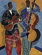 HARTWELL YEARGANS (1915 - 2005) Bass and Guitar Musicians.