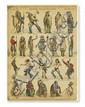 (AMERICAN INDIANS--PRINTS.) Pellerin & Co. Indiens Peaux-Rouges.