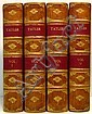 ADDISON, JOSEPH; STEELE, SIR RICHARD; et al.  The Lucubrations of Isaac Bickerstaff Esq.  4 vols.  1710-11