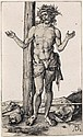 ALBRECHT DÜRER Man of Sorrows with Arms Raised.